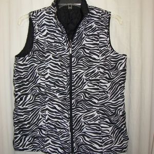 Women's Casual Identity Quilted Vest Sz S
